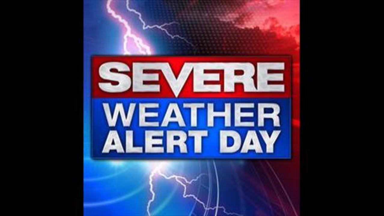 Severe Weather Alert Day Today
