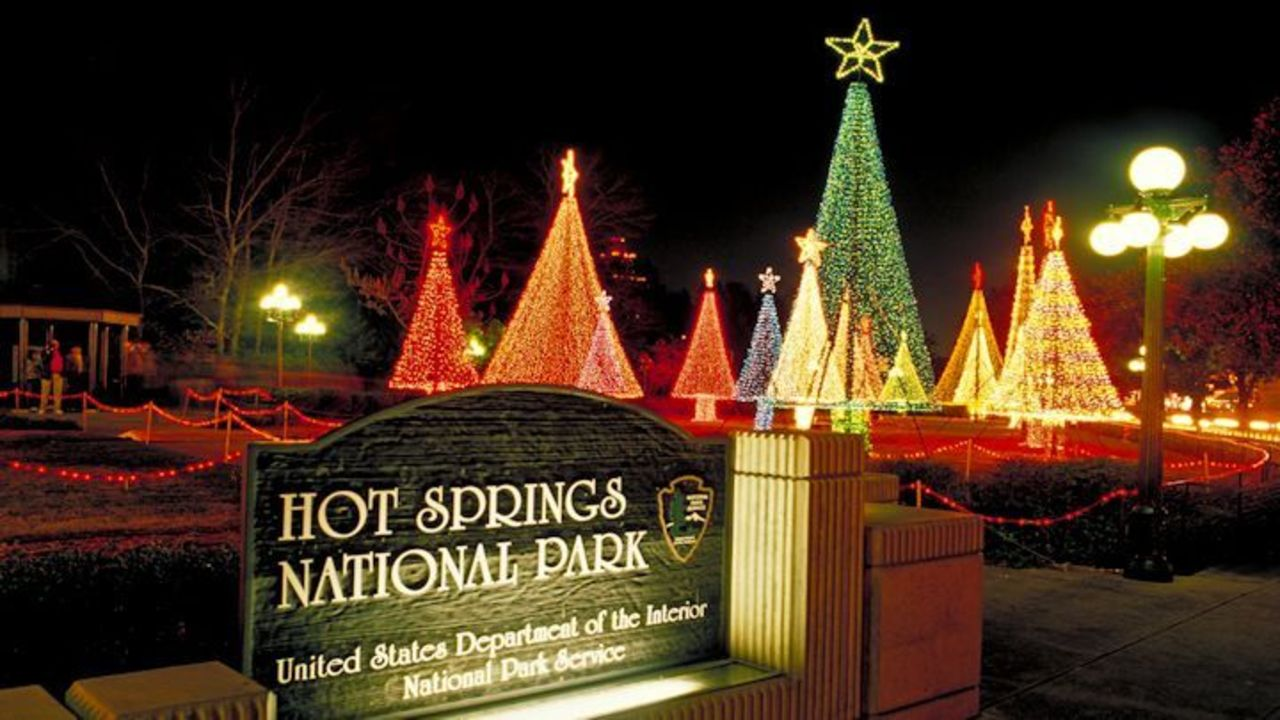 arkansas trail of holiday lights guide