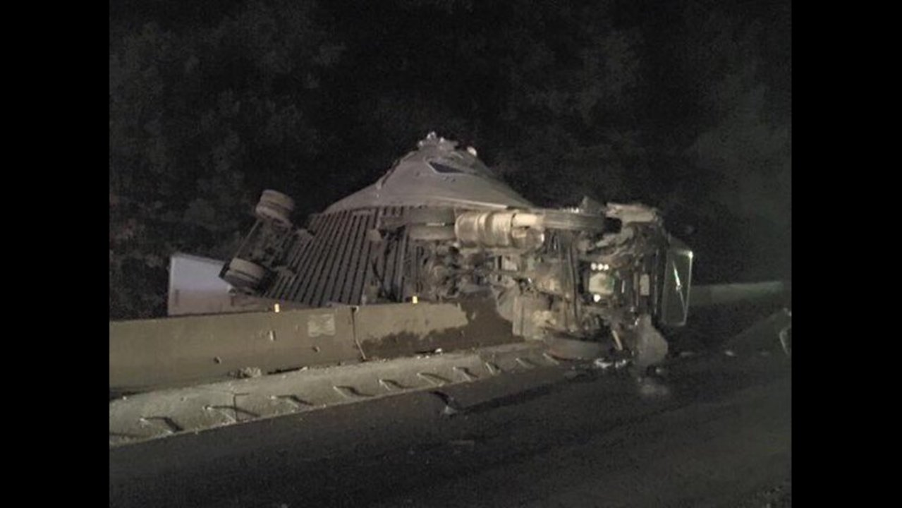 Big Rig Accident Causes Traffic Mess in Saline County