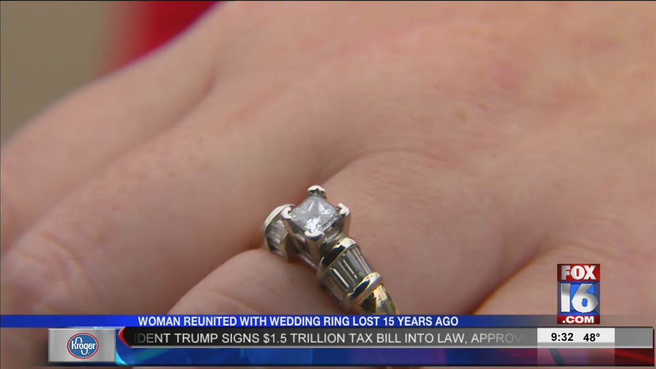 Woman Reunited With Wedding Ring Lost in 2002 FOX16