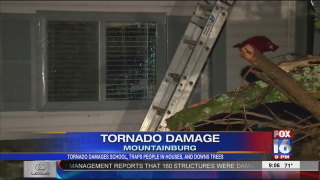 Friday Storm Damage in 12+ Arkansas Counties
