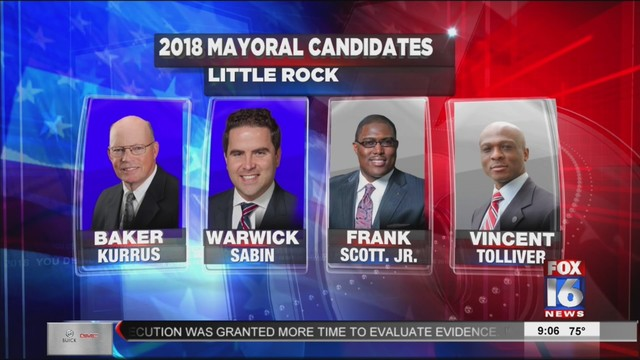 Poll: Sabin, Kurris Tied for Top Spot in LR Mayoral Race