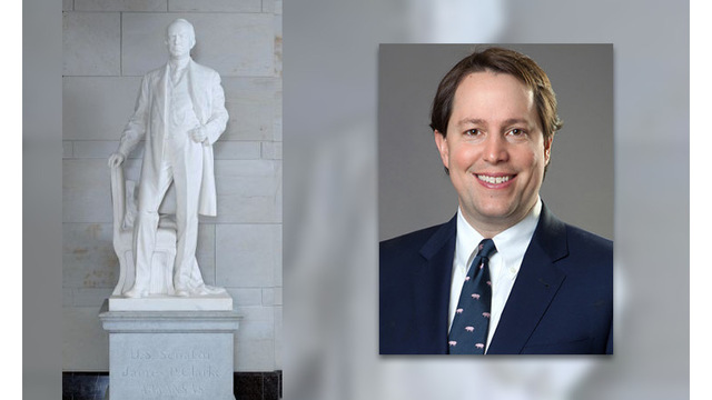 Arkansas House Hopeful: Replace Ancestor's Capitol Statue