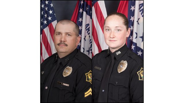 Two Springdale Officers Struck by Suspect Vehicle, Four in Custody