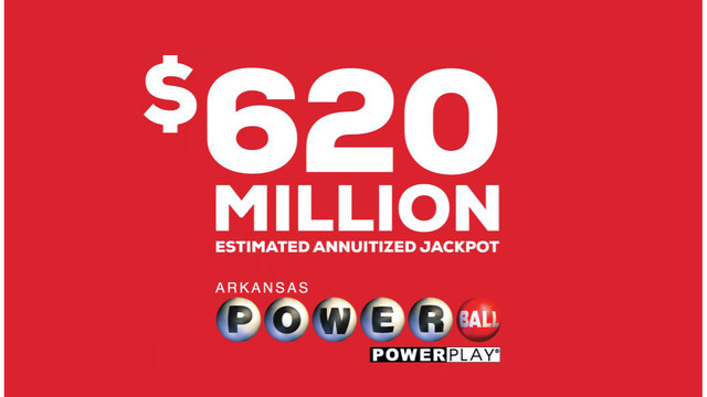Powerball Drawing For 620 Million Tonight