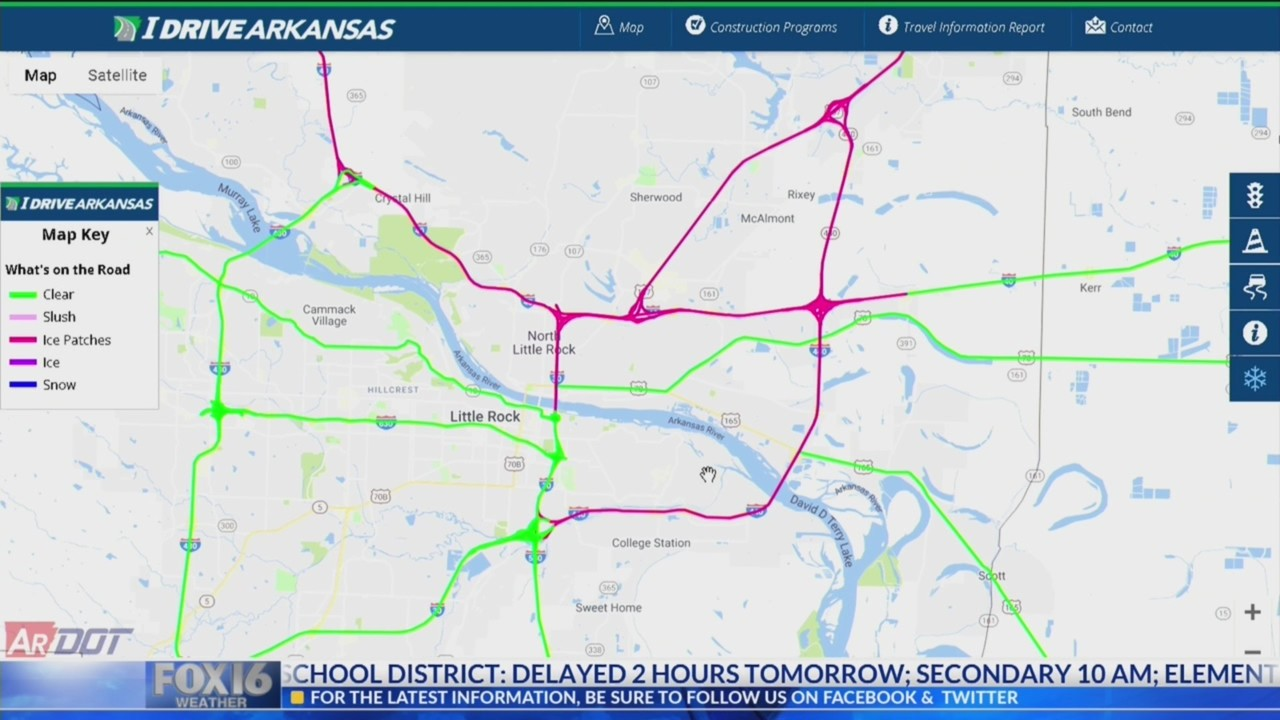 Traffic Alert Multiple Wrecks Reported As Road Conditions Deteriorate