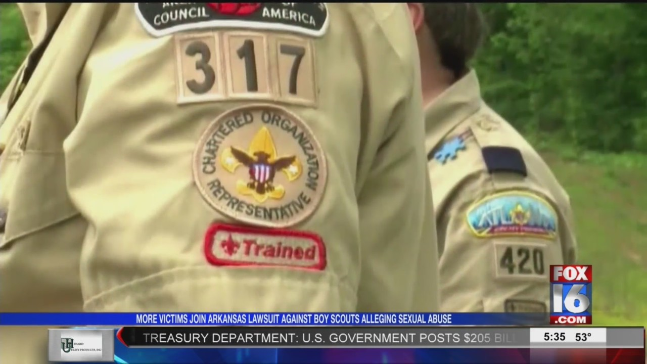 Additional Victims Join AR Lawsuit Against Boy Scouts of America Claiming Sexual Abuse