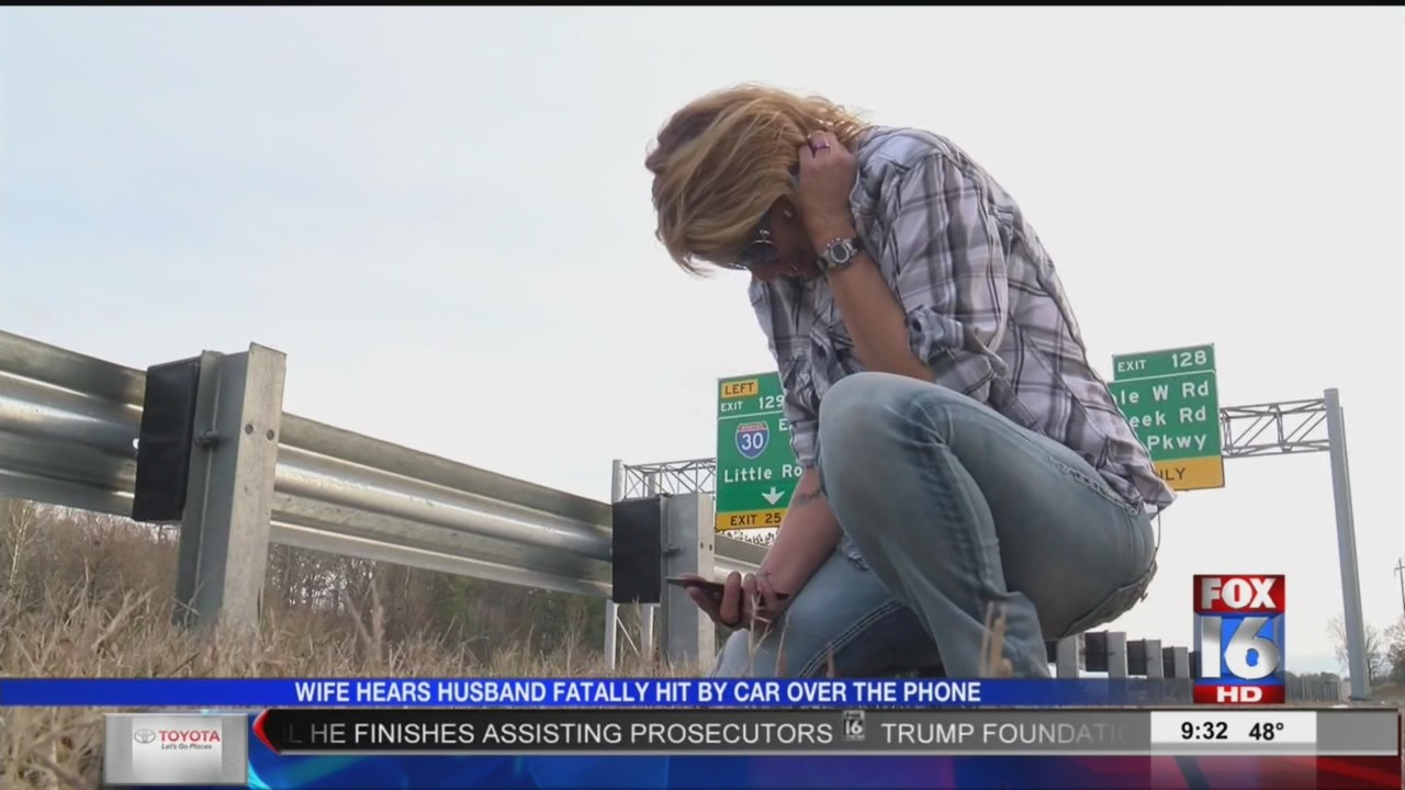 Wife Hears Husband Fatally Hit by Car Over the Phone