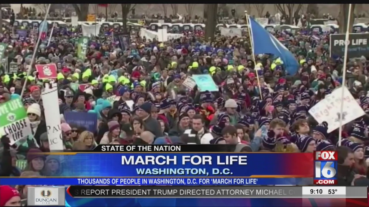 President Trump, Vice President Pence Address D.C. March for Life Participants