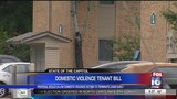 Bill filed to allow victims of domestic violence out of lease without paying penalties