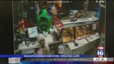 Clerk arming herself after robbery