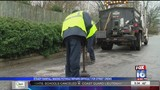 Crews struggle to patch up potholes in LR due to rain