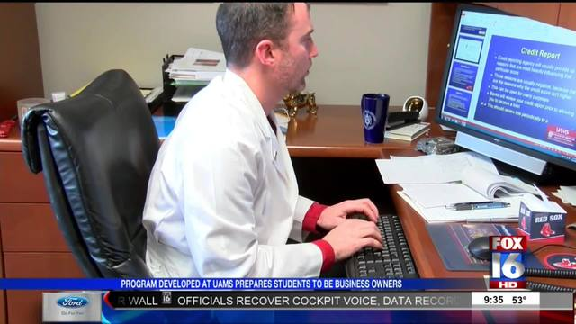 UAMS offers business courses for medical students