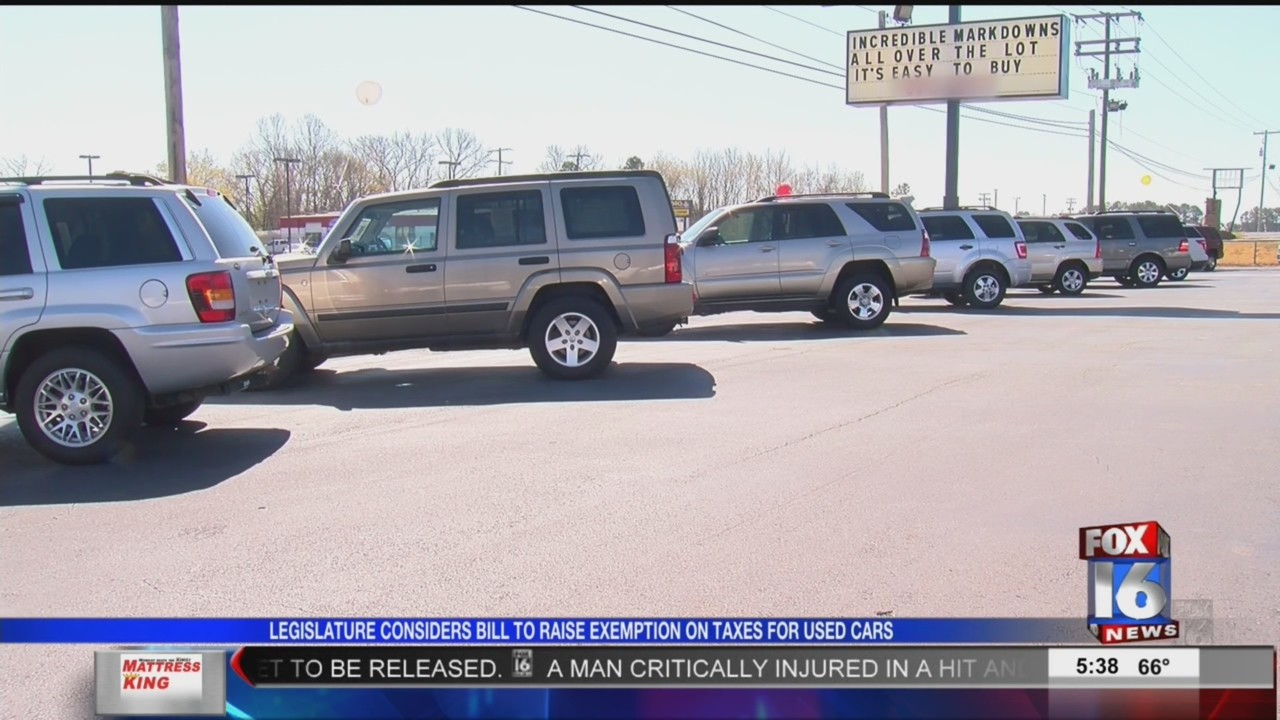 Arkansas House green lights discount for certain used car customers