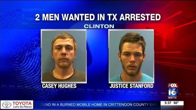 TX men wanted in murder investigation arrested in AR