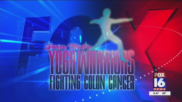 Yoga Warriors brings awareness to risks of colon cancer