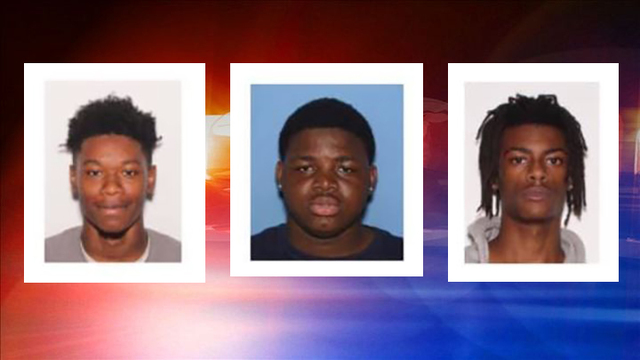 3 suspects wanted in Fair Oaks Apartment shooting