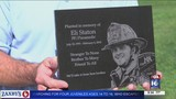 Tree planted in honor of fallen firefighter